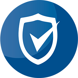 blue icon protection shield